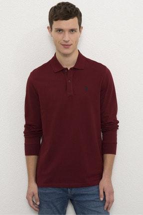 U.S. Polo Assn. Kırmızı Erkek Sweatshirt