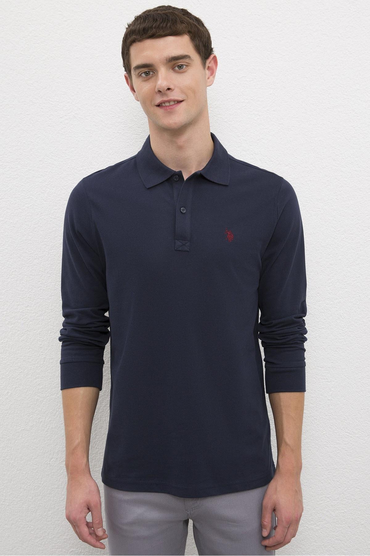 U.S. Polo Assn. Lacıvert Erkek Sweatshirt 1