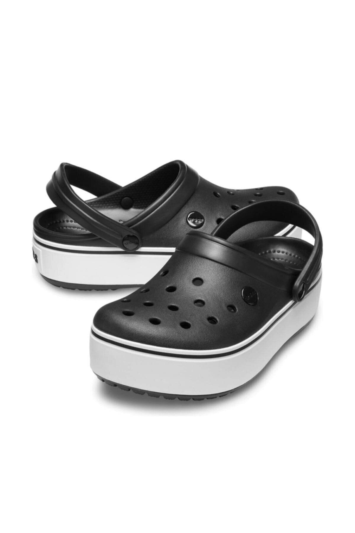 Crocs Kadın Siyah Platform Terlik 205434 2