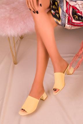 SOHO Sarı Kadın Terlik 16045