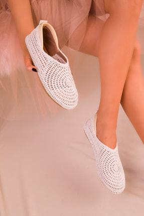 SOHO Beyaz Kadın Casual Ayakkabı 16218