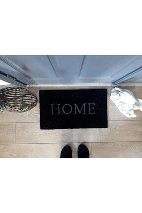 GizHome Giz Home Koko Kapı Paspası 35x60 Siyah Home