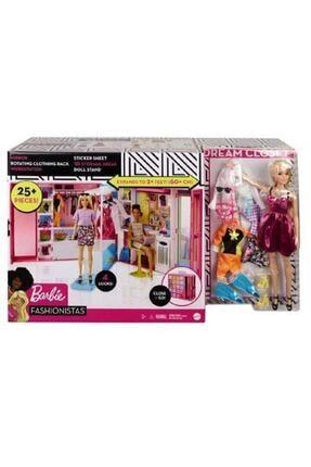 mattel Barbie Bebek ve Rüya Gardırobu 25 aksesuar GBK10