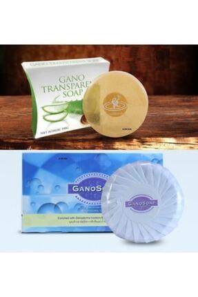 Gano Soap Derma Mantarlı Ve Keçi Sütlü + Transparent Sabun (1+1)
