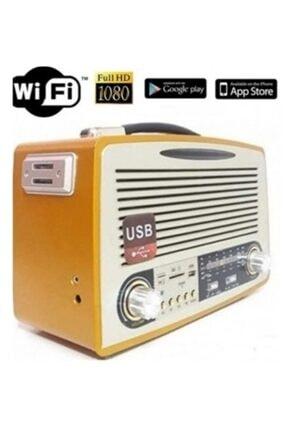 Filonline Radyo Gizli Cam Kamera Nostaljik Radyo Full Hd 4k 1080p Wifi Sınırsız Mesafe Uzaktan Izlemeli Kamera