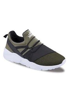 Jump 21196 Erkek Bağcıksız Spor Ayakkabı - Yeşil - 44