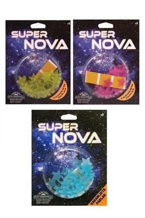 Artikel Fosforlu Mini Yıldızlar 3'lü