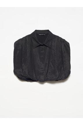 Dilvin Kadın Crop Gömlek