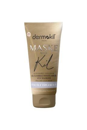 Dermokil Altın Maske Kil Içerikli Soyulabilir Yüz Maskesi