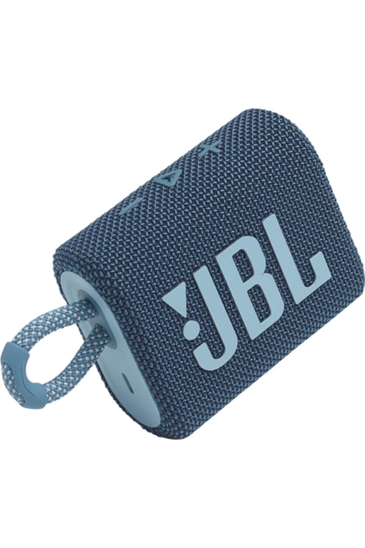 JBL Go 3 Mavi Bluetooth Hoparlör 1