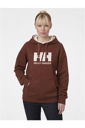 Helly Hansen Kadın Kırmızı Hh Logo Hoodıe