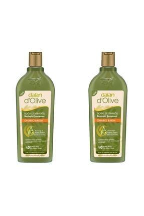Dalan 2 Adet D'olive Zeytinyağlı Onarıcı Şampuan 400 ml