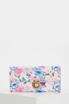 DeFacto Çiçek Desenli Küçük Çanta