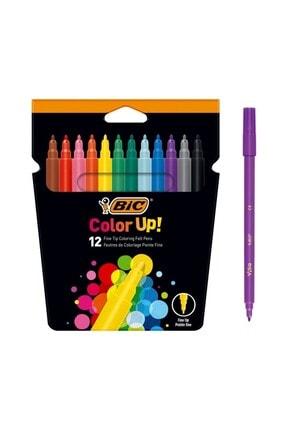 Bic İntensity Keçeli Boya Kalemi 12 Renk
