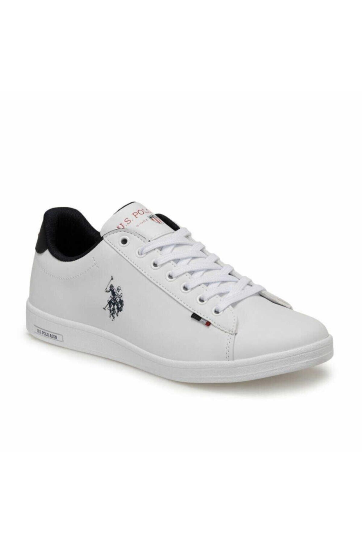 U.S. Polo Assn. Erkek Beyaz Franco Günlük Spor Ayakkabı 2
