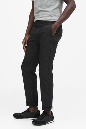 Banana Republic Erkek Siyah Slim City Pantolon