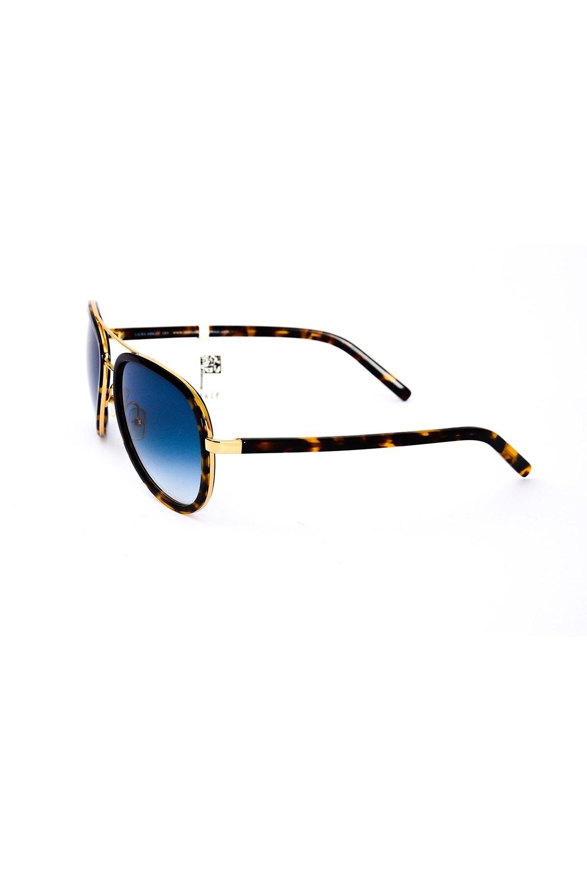 Laura Ashley Unisex Mavi La Troy Güneş Gözlüğü 6 55-18 2