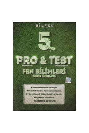 Bilfen Yayıncılık 5.sınıf Pro&test Fen Bilimleri Yeni Nesil Soru Bankası
