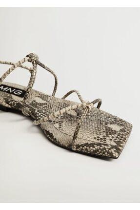 MANGO Woman Sandalet