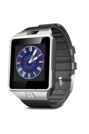 Fonemax Kameralı Akıllı Saat DZ09 Gümüş (IOS ve Android Uyumlu) 0
