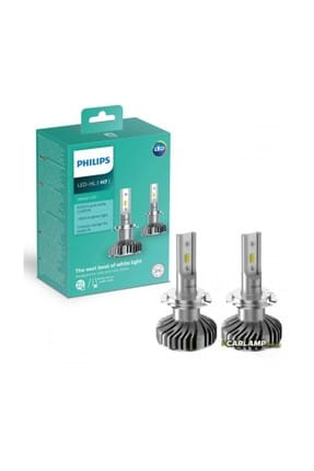 Philips H7 Ultinon Led +%160 Ampul Seti 6000K 0