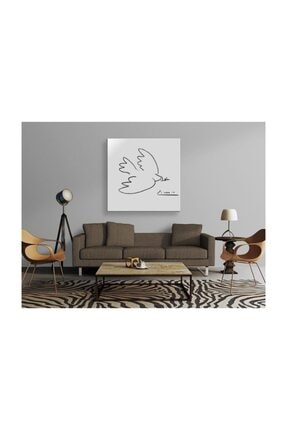 2645 Sanat Pablo Picasso - Dove Of Peace Tablo 1