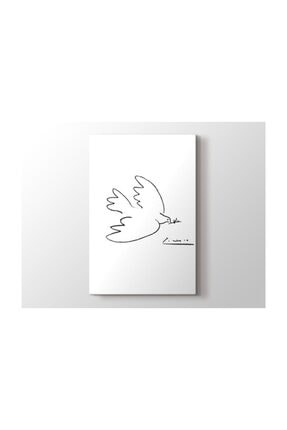 2645 Sanat Pablo Picasso - Dove Of Peace Tablo 2