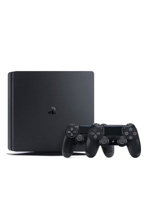 Sony Playstation 4 Slim 500 GB + 2. PS4 Kol + PS4 Pes 2020 2
