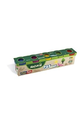 Play Toys Pro Dough Naturel Oyun Hamuru 5 Li 0