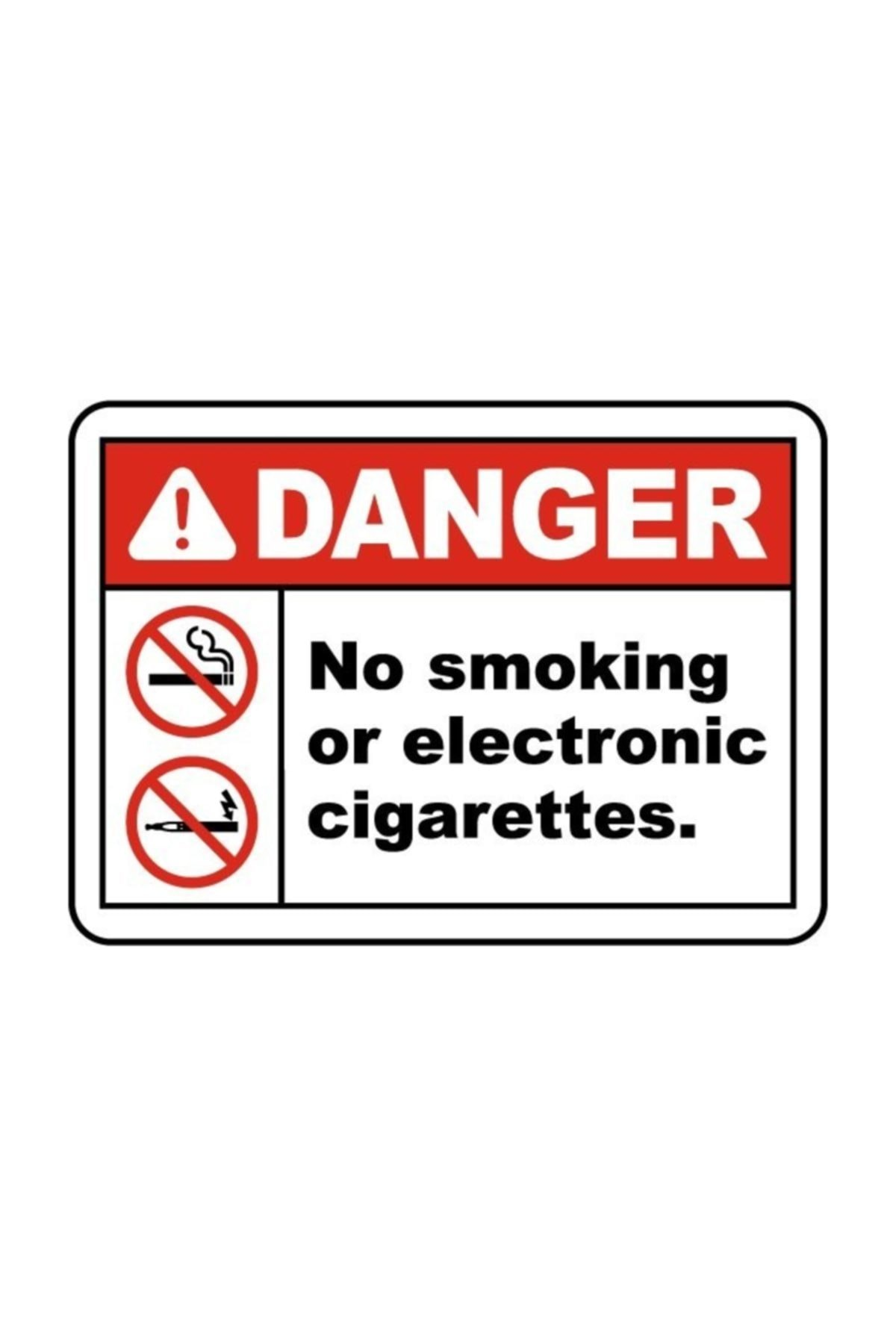 No Smoking Or Electronic Cigarettes Sign