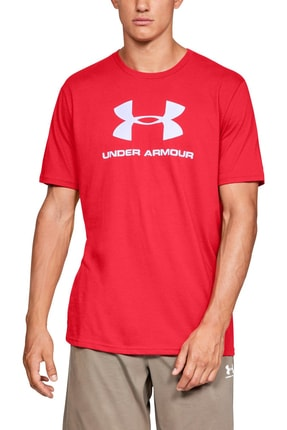 Under Armour Erkek T-Shirt - Sportstyle Logo Ss - 1329590-600 0