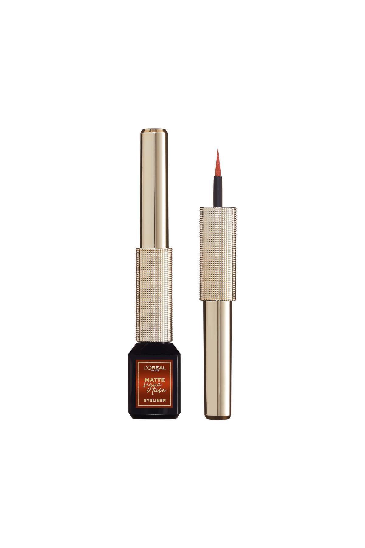 L'Oreal Paris Mat Eyeliner - Matte Signature Eyeliner 07 Copper 30175280 0