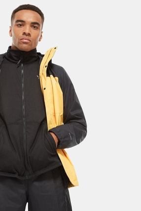 The North Face Quest Triclimate Erkek Outdoor Mont Sarı/Siyah 2