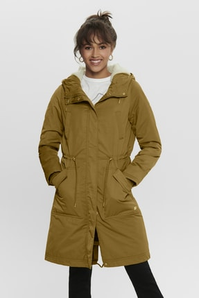 Only ONLTERESA LONG PARKA COAT OTW Kadın Mont 0