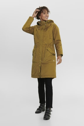Only ONLTERESA LONG PARKA COAT OTW Kadın Mont 2