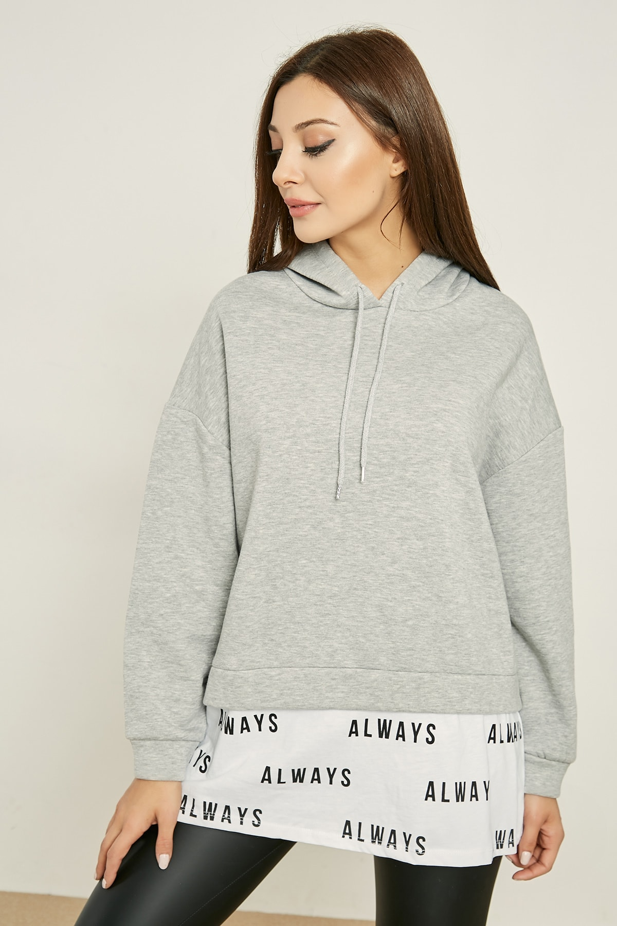 Sateen Sweatshirt