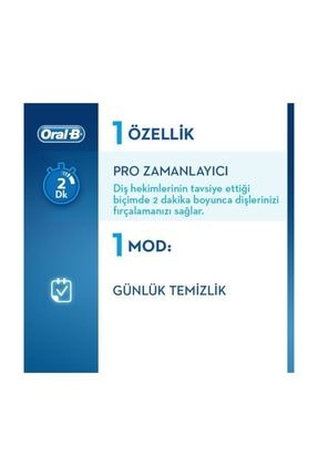 Oral-B D100 Vitality Cross Action Siyah + D100 Vitality Sensitive Ultrathin Şarjlı Diş Fırçası White 2