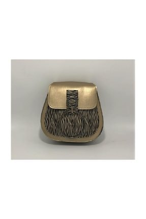 Hera Gold Zebra Clutch 0