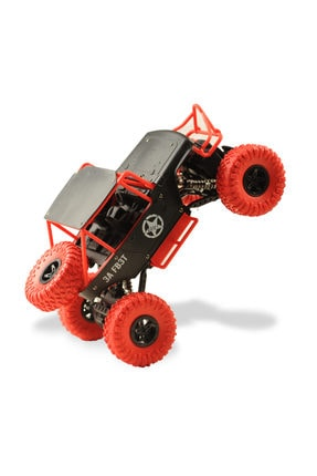 BEREN 1:14 Rock Defender Off Road 2.4ghz 4x4 U/k Buggy Jeep -Dağda, Çölde, Kayalıklarda Giden Rock Crawler 0