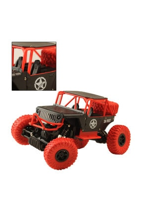 BEREN 1:14 Rock Defender Off Road 2.4ghz 4x4 U/k Buggy Jeep -Dağda, Çölde, Kayalıklarda Giden Rock Crawler 3