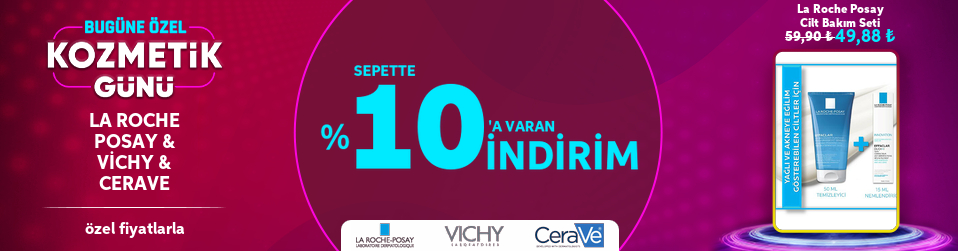 La Roche Posay & Vichy & CeraVe