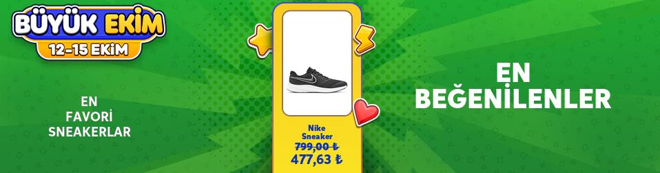 En Favori Sneakerlar - Büyük Ekim Kampanyası