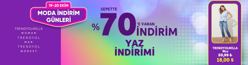 TRENDYOL COLLECTİON - Sepette %70'e Varan İndirim