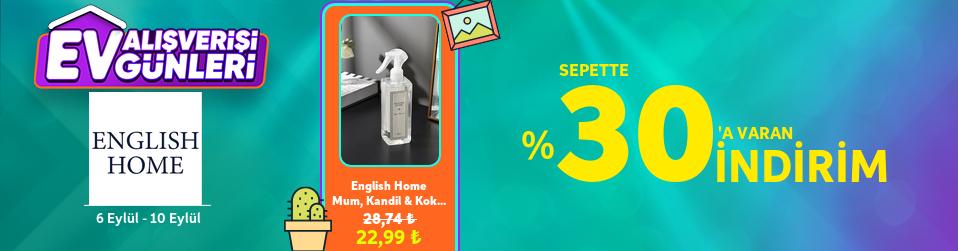 English Home - Sepette %30  varan   Online Satış, Outlet, Store, İndirim, Online Alışveriş, Online Shop, Online Satış Mağazası