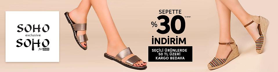 Soho & Soho Men - Ayakkabı Fırsatı   Online Satış, Outlet, Store, İndirim, Online Alışveriş, Online Shop, Online Satış Mağazası