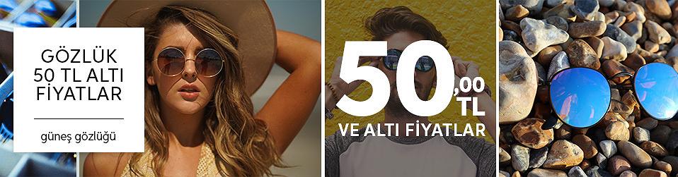 50 TL altı fiyatlar-güneş gözlüğü
