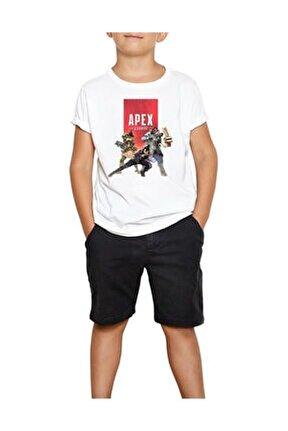 Apex Legends Energy Team Beyaz Çocuk Tişört