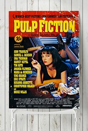 Pulp Fiction-ucuz Roman Film Afişi (40x60cm)