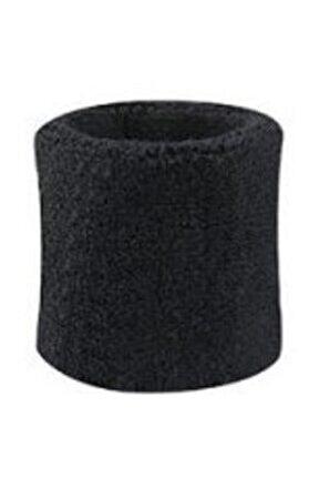 Havlu Bileklik-tenis Bilekliği-siyah