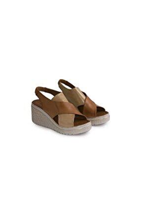 Slonch 9008 Gerçek Deri Kadın Ayakkabı